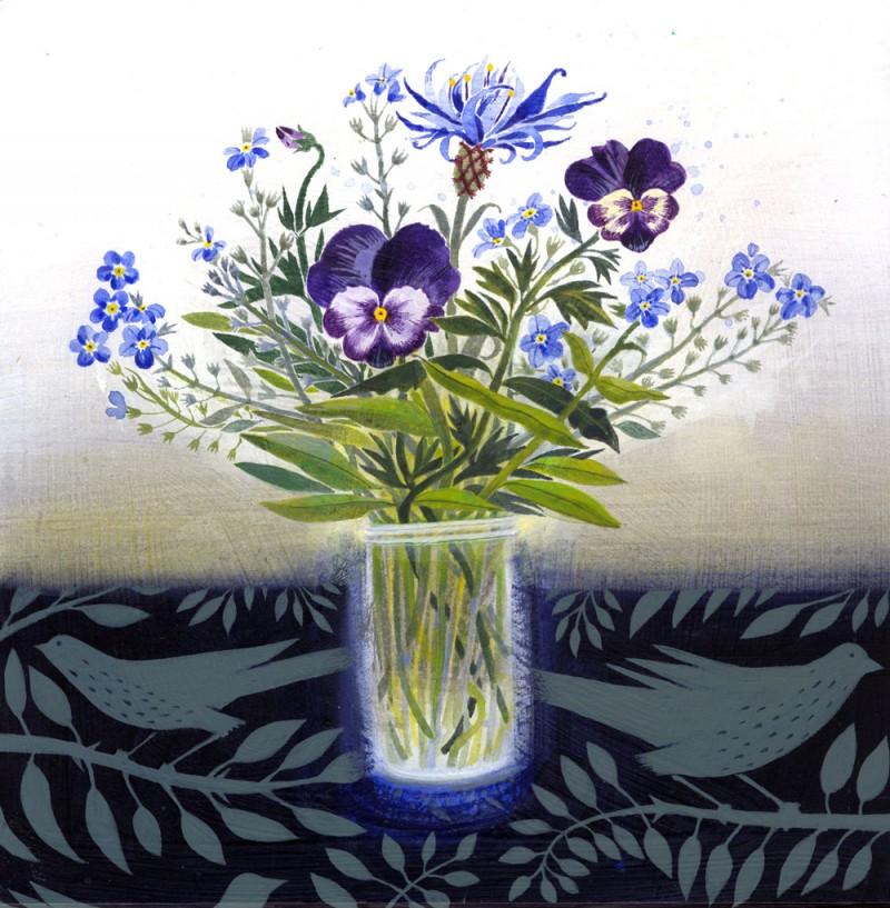 Spring Bunch by Ann Ross RSW