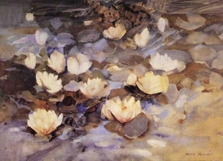 Waterlilies - Moira Ferrier RSW