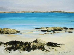 Mull from Iona - Gillian Goodheir