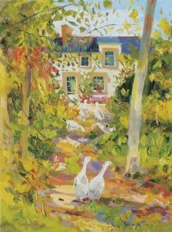 Geese at Killochan - James Harrigan