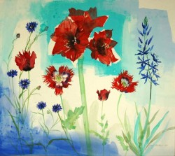Red and Blue - Jenny Matthews