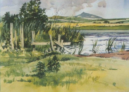 Summer Shadows, Mither Tap - Donald Murray