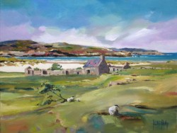 Ruined Cottages, Bettyhill - Kate Philp