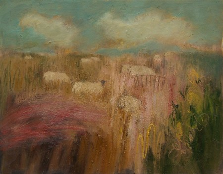 Sheep in the Fields