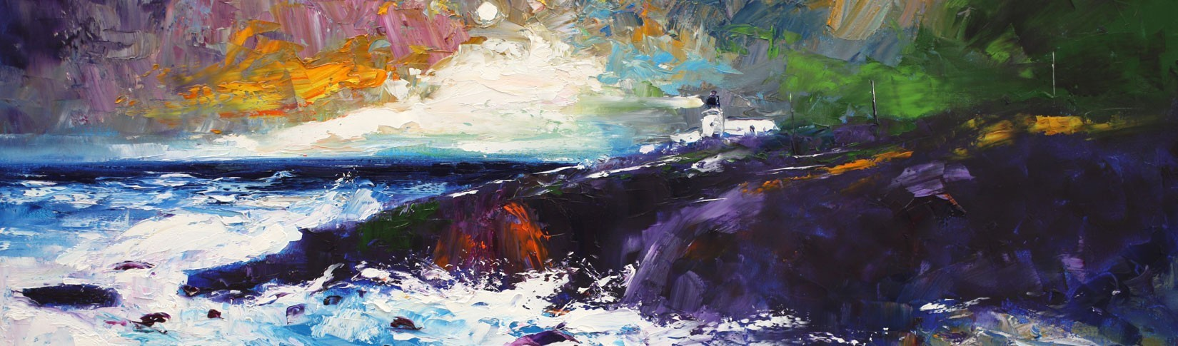 Scottish contemporary art exhibitions at Tolquhon Gallery near Aberdeen