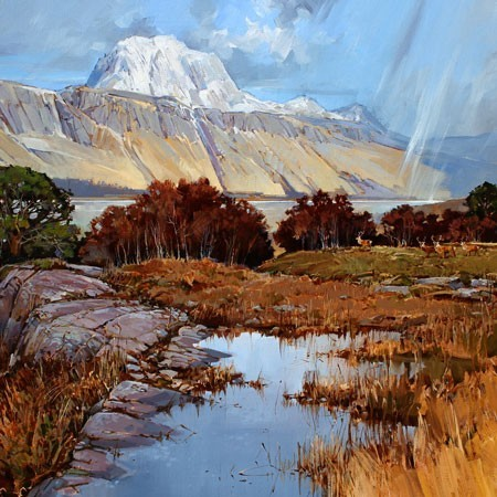 Alan Hayman — The Nature of Scotland. An exhibition by renowned Scottish wildlife and landscape artist.
