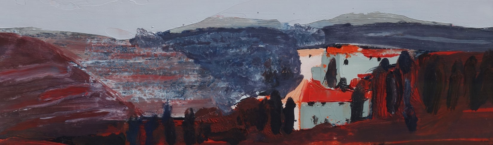 A wonderful mix of styles and media and subjects in the Summer Exhibition at Tolquhon Gallery, Aberdeenshire.
