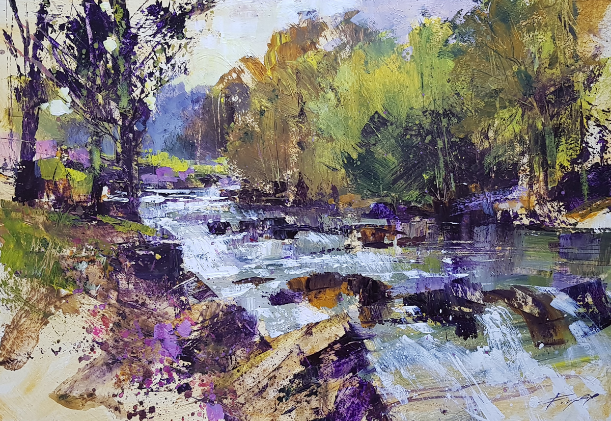 Along the River by Chris Forsey RI