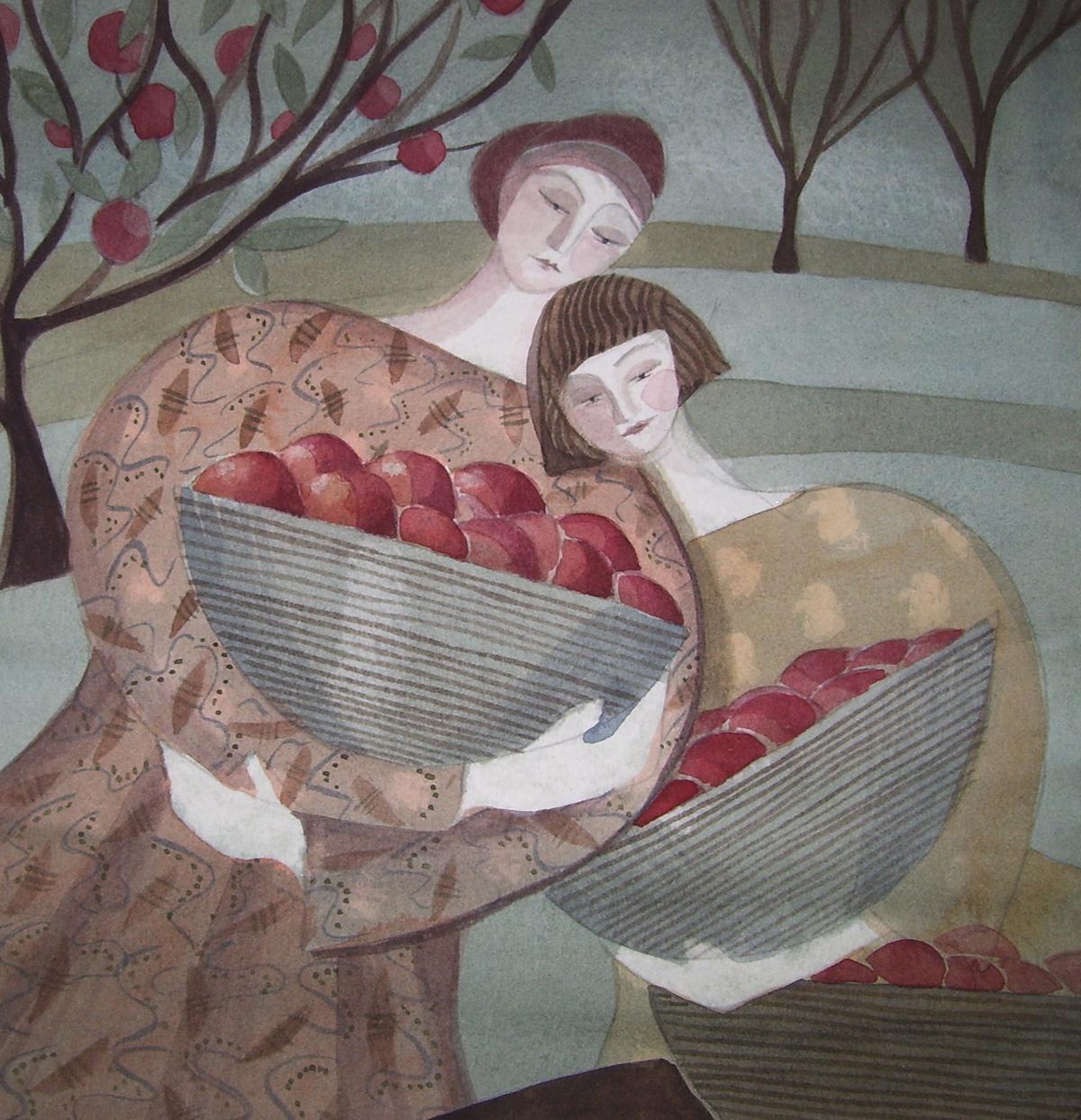Apple Baskets by Madeleine Hand