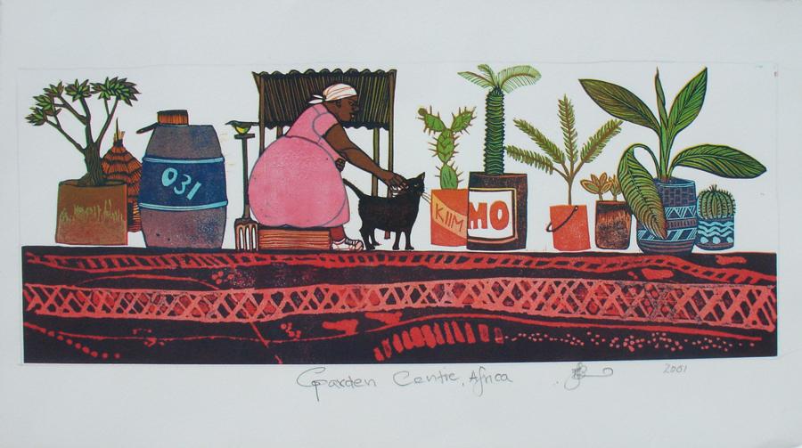 Garden Centre Africa by Barbara Robertson