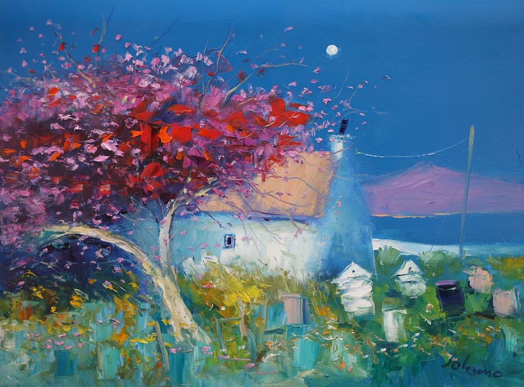 Blossoms and Beehives the Hebrides by John Lowrie Morrison OBE (Jolomo)