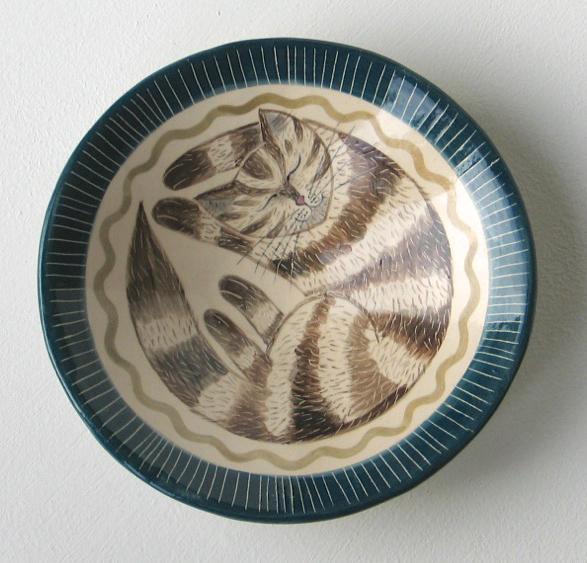 Cat Dish by Helen Kemp