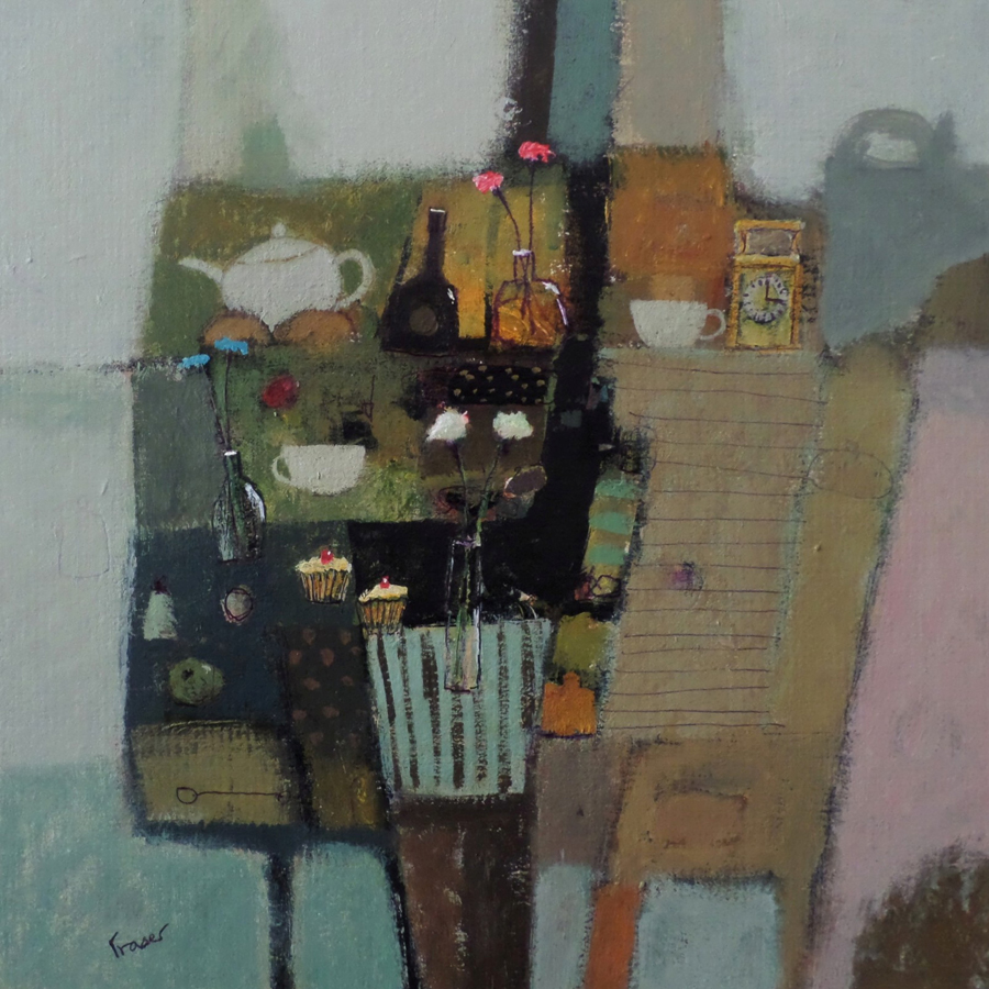 Everything Stops for Tea by JAMES FRASER RSW