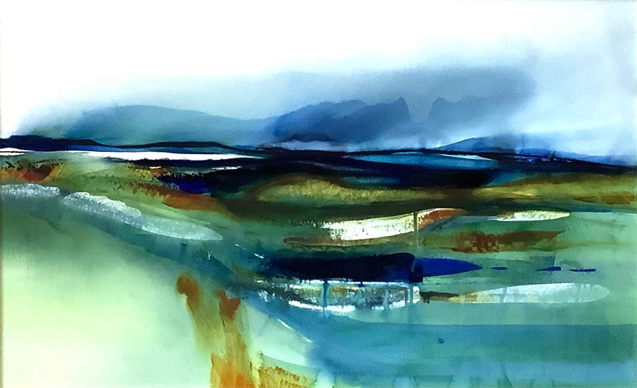 Machair —watercolour by Stephen M.Redpath
