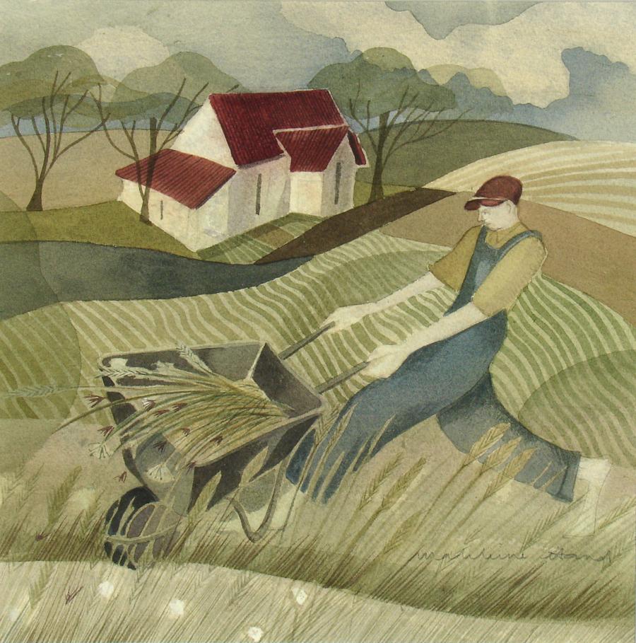 Wheelbarrow by Madeleine Hand