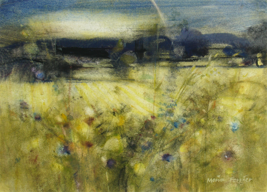 Dusk by MOIRA FERRIER RSW