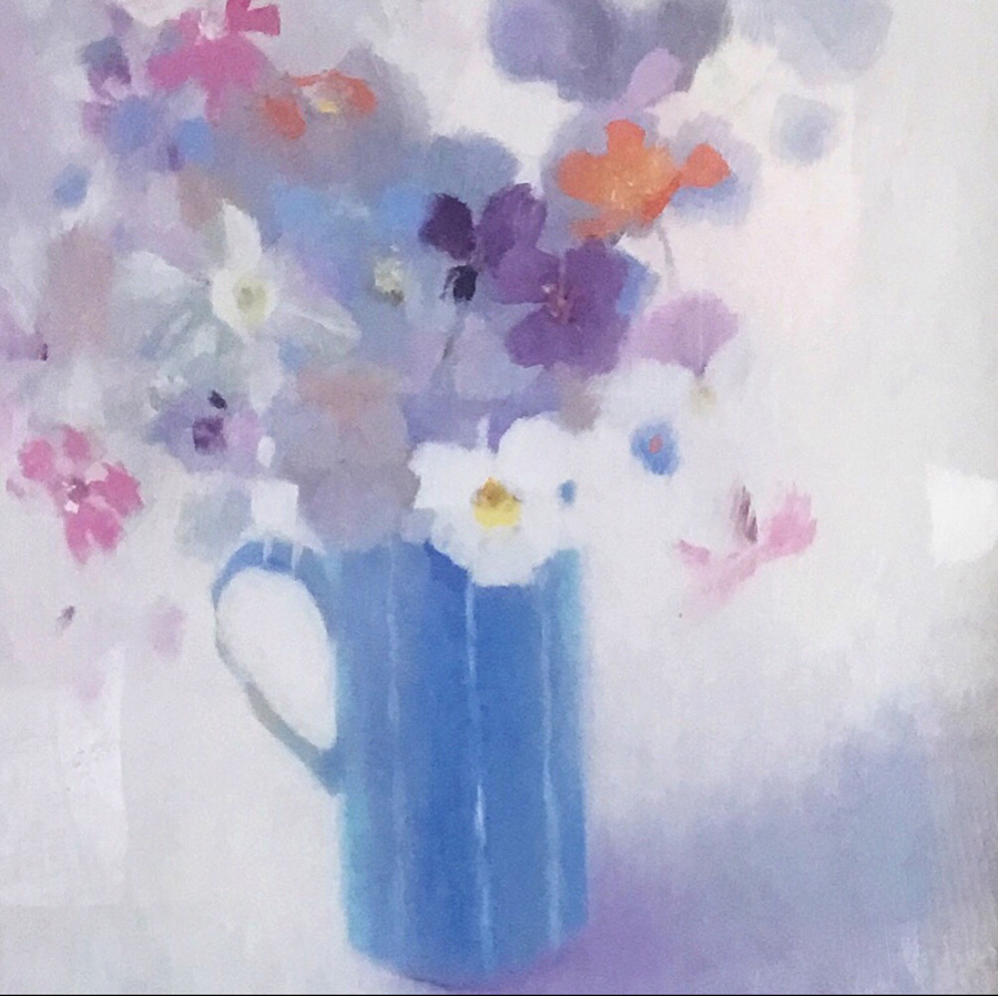 May Flowers — original oil painting by Suzan Malcolm