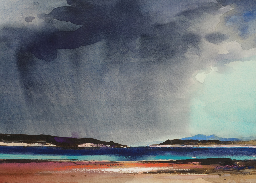 Storm Approaching by Tom Shanks RSW RGI PAI