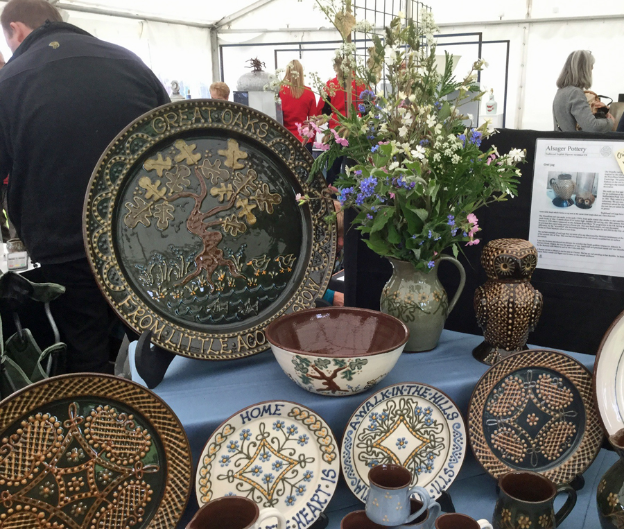Alsager Pottery at Potfest