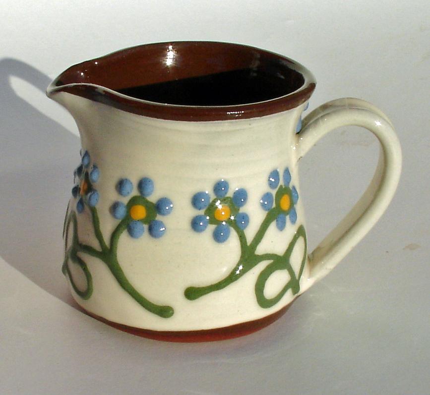Alsager Pottery slipware jug