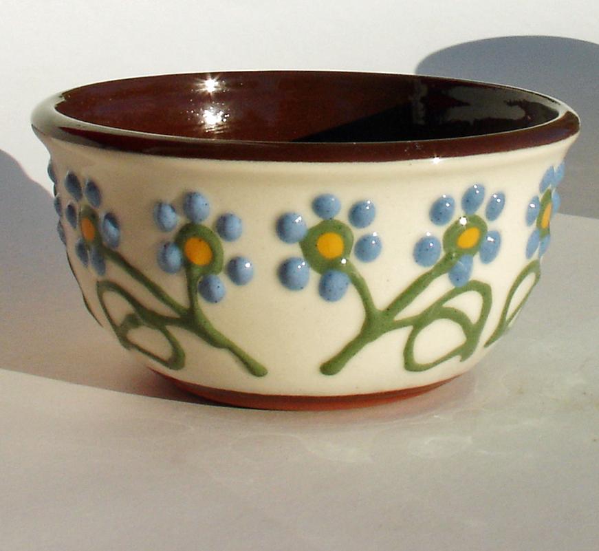 Alsager Pottery slipware bowl