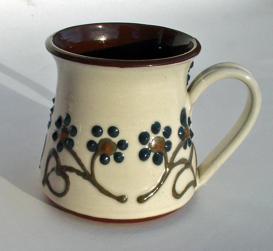 Alsager Pottery slipware mug