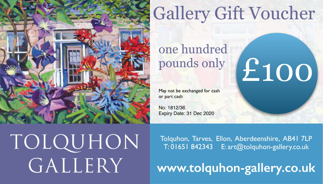 Gift voucher for Tolquhon Gallery