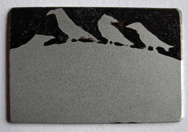 Gathering 1 — etching by Kitty Watt